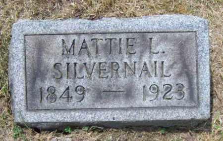 HATCH SILVERNAIL, MATTIE L. - Trumbull County, Ohio | MATTIE L. HATCH SILVERNAIL - Ohio Gravestone Photos