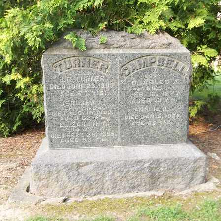 TURNER, H. R. - Trumbull County, Ohio | H. R. TURNER - Ohio Gravestone Photos