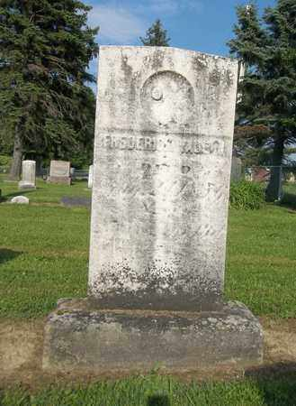 VAUGHN, FREDERICK - Trumbull County, Ohio | FREDERICK VAUGHN - Ohio Gravestone Photos