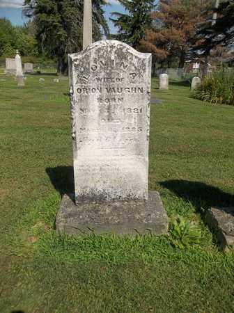VAUGHN, LOVINA - Trumbull County, Ohio   LOVINA VAUGHN - Ohio Gravestone Photos