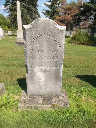 VAUGHN, ORION ENSIGN - Trumbull County, Ohio   ORION ENSIGN VAUGHN - Ohio Gravestone Photos