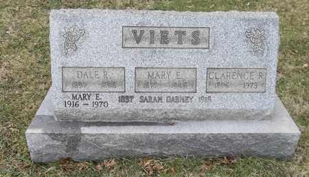 VIETS, MARY E. - Trumbull County, Ohio | MARY E. VIETS - Ohio Gravestone Photos