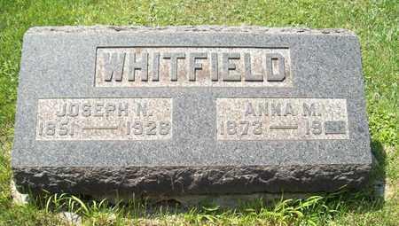 WHITFIELD, ANNA M. - Trumbull County, Ohio | ANNA M. WHITFIELD - Ohio Gravestone Photos