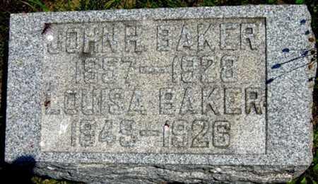 BAKER, JOHN H. - Tuscarawas County, Ohio | JOHN H. BAKER - Ohio Gravestone Photos