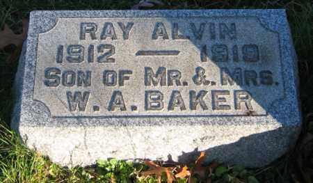 BAKER, RAY - Tuscarawas County, Ohio   RAY BAKER - Ohio Gravestone Photos