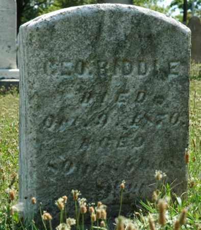 BIDDLE, GEORGE - Tuscarawas County, Ohio   GEORGE BIDDLE - Ohio Gravestone Photos