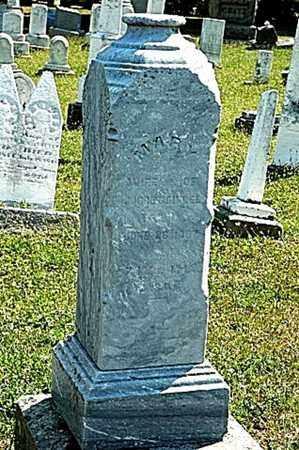 BIDDLE, MARY - Tuscarawas County, Ohio | MARY BIDDLE - Ohio Gravestone Photos