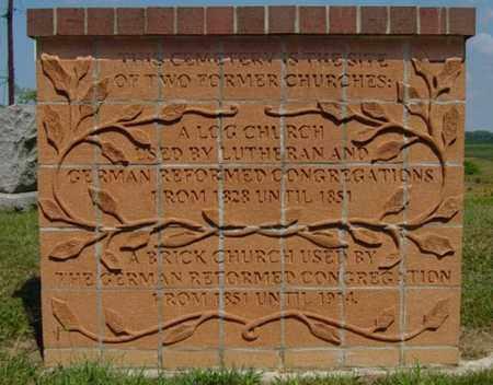 CEMETERY, SIGN - Tuscarawas County, Ohio | SIGN CEMETERY - Ohio Gravestone Photos