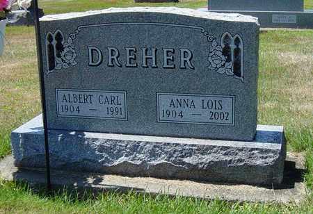 DREHER, ANNA LOIS - Tuscarawas County, Ohio | ANNA LOIS DREHER - Ohio Gravestone Photos