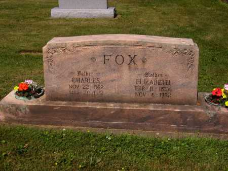 FOX, ELIZABETH - Tuscarawas County, Ohio   ELIZABETH FOX - Ohio Gravestone Photos