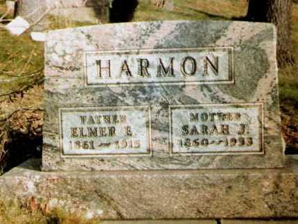 HARMON, SARAH J. - Tuscarawas County, Ohio | SARAH J. HARMON - Ohio Gravestone Photos