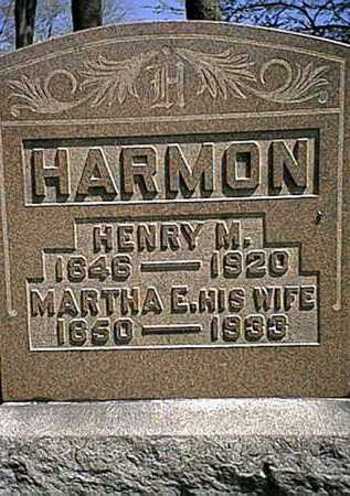 PARKER HARMON, MARTHA E. - Tuscarawas County, Ohio | MARTHA E. PARKER HARMON - Ohio Gravestone Photos