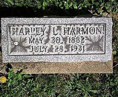 HARMON, HARLEY L. - Tuscarawas County, Ohio   HARLEY L. HARMON - Ohio Gravestone Photos