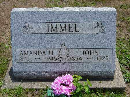 IMMEL, AMANDA H. - Tuscarawas County, Ohio | AMANDA H. IMMEL - Ohio Gravestone Photos