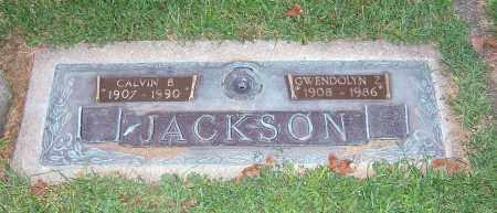 JACKSON, CALVIN B - Tuscarawas County, Ohio | CALVIN B JACKSON - Ohio Gravestone Photos