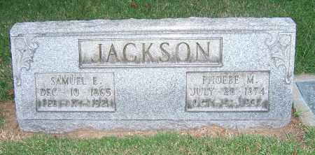 JACKSON, PHOEBE M - Tuscarawas County, Ohio | PHOEBE M JACKSON - Ohio Gravestone Photos