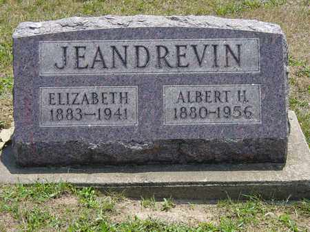 JEANDREVIN, ALBERT H. - Tuscarawas County, Ohio | ALBERT H. JEANDREVIN - Ohio Gravestone Photos