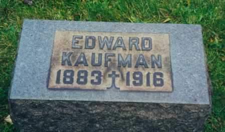 KAUFMAN, EDWARD JOSEPH - Tuscarawas County, Ohio   EDWARD JOSEPH KAUFMAN - Ohio Gravestone Photos