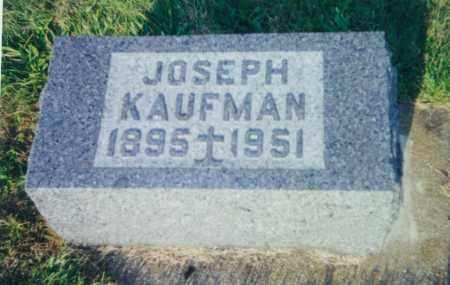 KAUFMAN, JOSEPH - Tuscarawas County, Ohio   JOSEPH KAUFMAN - Ohio Gravestone Photos
