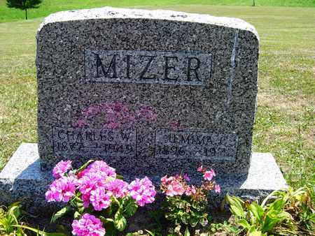 MIDDAUGH MIZER, JEMIMA C. - Tuscarawas County, Ohio | JEMIMA C. MIDDAUGH MIZER - Ohio Gravestone Photos