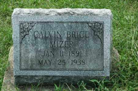 MIZER, CALVIN BRICE - Tuscarawas County, Ohio | CALVIN BRICE MIZER - Ohio Gravestone Photos