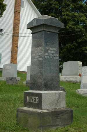 MIZER, CATHERINE - Tuscarawas County, Ohio | CATHERINE MIZER - Ohio Gravestone Photos