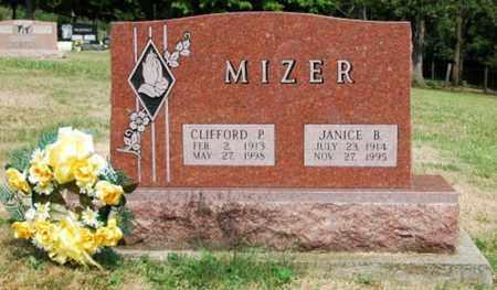 MIZER, JANICE B. - Tuscarawas County, Ohio | JANICE B. MIZER - Ohio Gravestone Photos