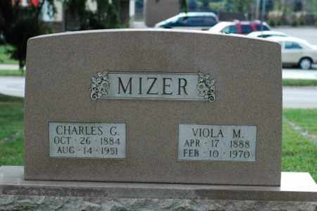 MIZER, CHARLES G. - Tuscarawas County, Ohio | CHARLES G. MIZER - Ohio Gravestone Photos