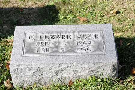 MIZER, C. EDWARD - Tuscarawas County, Ohio   C. EDWARD MIZER - Ohio Gravestone Photos