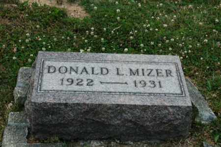 MIZER, DONALD L. - Tuscarawas County, Ohio | DONALD L. MIZER - Ohio Gravestone Photos
