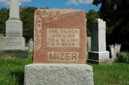 MIZER, EARL FRANCIS - Tuscarawas County, Ohio | EARL FRANCIS MIZER - Ohio Gravestone Photos