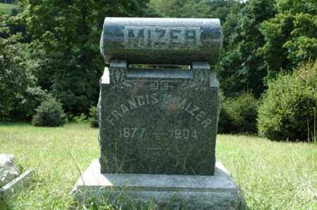 MIZER, FRANCIS C. - Tuscarawas County, Ohio   FRANCIS C. MIZER - Ohio Gravestone Photos