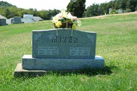 MIZER, HOWARD EDGAR - Tuscarawas County, Ohio | HOWARD EDGAR MIZER - Ohio Gravestone Photos