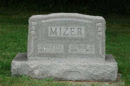 MIZER, HENRIETTA - Tuscarawas County, Ohio | HENRIETTA MIZER - Ohio Gravestone Photos