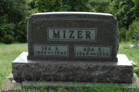 MIZER, IRA B. - Tuscarawas County, Ohio | IRA B. MIZER - Ohio Gravestone Photos