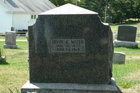 MIZER, IRVIN E. - Tuscarawas County, Ohio   IRVIN E. MIZER - Ohio Gravestone Photos