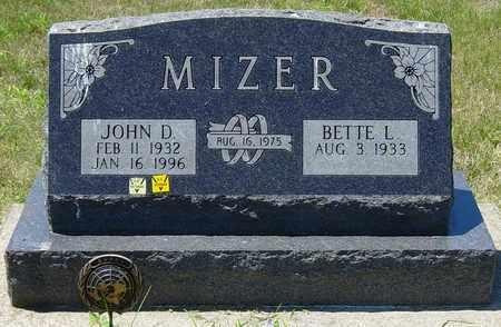 MIZER, JOHN D. - Tuscarawas County, Ohio | JOHN D. MIZER - Ohio Gravestone Photos