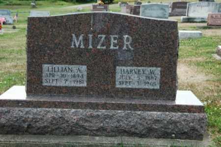MIZER, HARVEY W. - Tuscarawas County, Ohio | HARVEY W. MIZER - Ohio Gravestone Photos