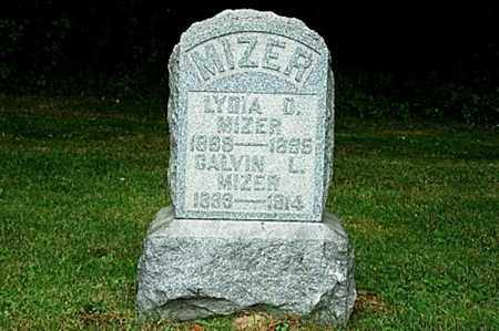 MIZER, LYDIA D. - Tuscarawas County, Ohio | LYDIA D. MIZER - Ohio Gravestone Photos