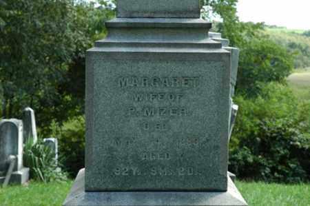 MIZER, MARGARET - Tuscarawas County, Ohio   MARGARET MIZER - Ohio Gravestone Photos