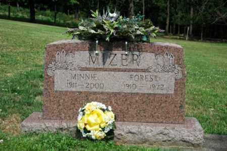 MIZER, MINNIE - Tuscarawas County, Ohio | MINNIE MIZER - Ohio Gravestone Photos