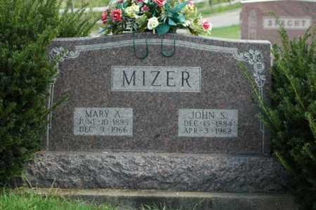 MIZER, JOHN S. - Tuscarawas County, Ohio | JOHN S. MIZER - Ohio Gravestone Photos