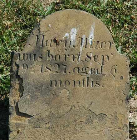 MIZER, MARY - Tuscarawas County, Ohio   MARY MIZER - Ohio Gravestone Photos