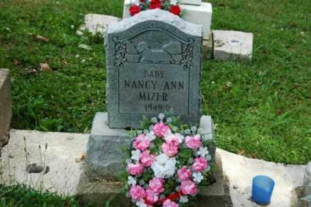 MIZER, NANCY ANN - Tuscarawas County, Ohio   NANCY ANN MIZER - Ohio Gravestone Photos
