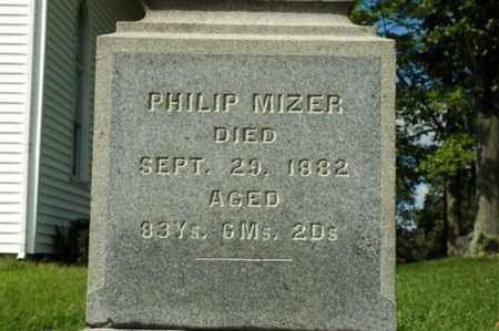 MIZER, PHILIP - Tuscarawas County, Ohio | PHILIP MIZER - Ohio Gravestone Photos