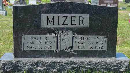 WEBER MIZER, DOROTHY E. - Tuscarawas County, Ohio | DOROTHY E. WEBER MIZER - Ohio Gravestone Photos