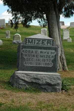 MIZER, ROSA E. - Tuscarawas County, Ohio | ROSA E. MIZER - Ohio Gravestone Photos