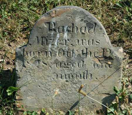 MIZER, RACHAEL - Tuscarawas County, Ohio | RACHAEL MIZER - Ohio Gravestone Photos