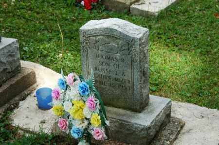 MIZER, THOMAS R. - Tuscarawas County, Ohio | THOMAS R. MIZER - Ohio Gravestone Photos