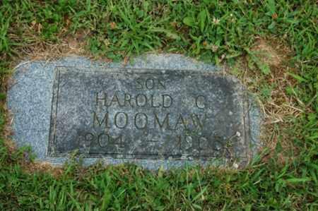 MOOMAW, HAROLD G. - Tuscarawas County, Ohio   HAROLD G. MOOMAW - Ohio Gravestone Photos